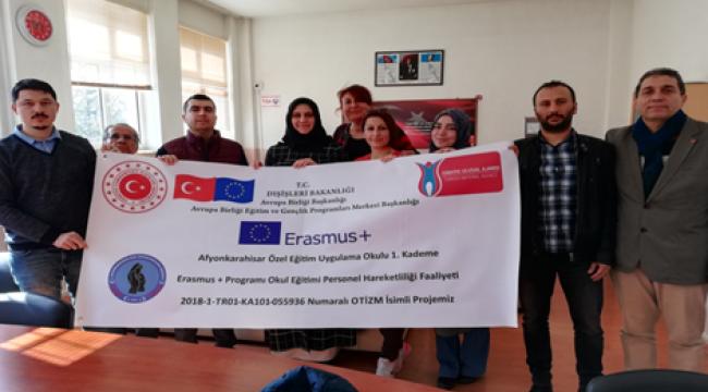 Afyonkarahisar Özel Eğitim Uygulama Okulu 'Otizm ' İçin Almanyada