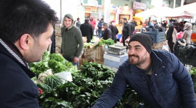 Çetinkaya : Ucuz ve kaliteli gıda 'Belediye'nin boynunun borcudur