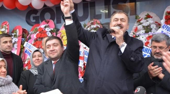 Cumhurbaşkanı Özel Temsilcisi Eroğlu : Bolvadin'e hizmet etmeye devam edeceğim