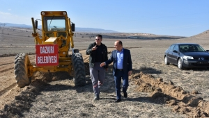 Dazkırı Organize Sanayi Bölgemizde Altyapı Hazırlıkları Başladı
