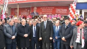 MHP Sandıklı'da Seçim Bürosunu Açtı