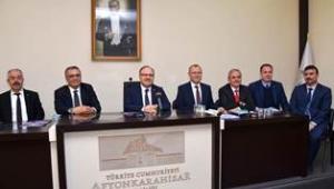 Şubat Ayı Halk Günü Toplantısı Vali Tutulmaz'ın Başkanlığında Yapıldı.