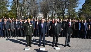 18 Mart Çanakkale Zaferi'nin 104'üncü Yıl Dönümü Törenle Kutlandı