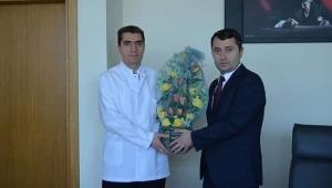 AFSÜ Hastanesi'nde Devir Teslim Töreni Düzenlendi