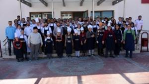 Afyon MYO Aşçılık Programı Özel Eğitim Uygulama Okulu Öğrencilerini Konuk Etti