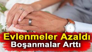 Afyonkarahisar'da evlenen çiftlerin sayısı 2018 yılında 5 bin 102 oldu