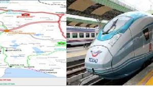 Afyonkarahisar hızlı tren hatlarının kavşak noktasıdır