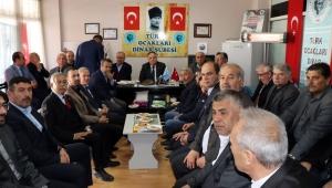Başkan Acar'dan Derneklere Ziyaret