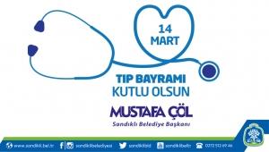 Başkan Mustafa Çöl'den 14 Mart Tıp Bayramı Mesajı