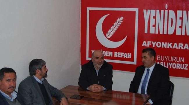 Cansuyu'ndan Yeniden Refah Partisi'ne ziyaret