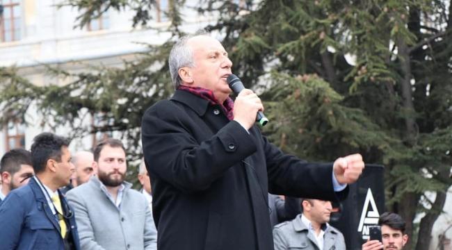 CHP Cumhurbaşkanı Adayı İnce Afyonkarahisar'a geliyor