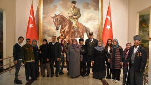 Dazkırı İlçemizdeki Gazi Ve Şehit Ailelerimiz Ankara'da