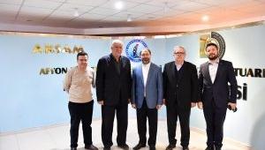 Diyanet İşleri Başkanı Erbaş Devlet Konservatuvarını Ziyaret Etti