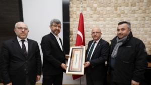 Ensar Vakfı'ndan Başkan Çoban'a Teşekkür Ziyareti