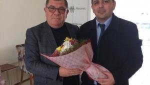 Eski Belediye Başkanlarına Koyuncu'dan Teşekkür Ziyareti