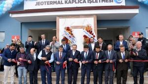 İsecehisar'da Jeotermal Kaplıca Tesisi Hizmete Açıldı