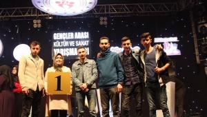 Karahisar Gençlik Merkezi Bilgi Yarışmasında Gurup Birincisi Oldu