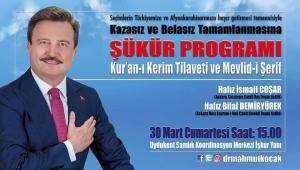 Kocak'tan Şükür programı