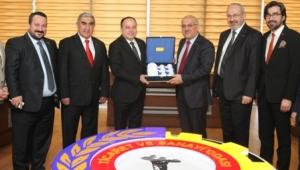 MÜSİAD Yöneticileri, Atso'yu Ziyaret Etti