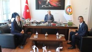 Özel Hastane yöneticilerinden Serteser'e Ziyaret