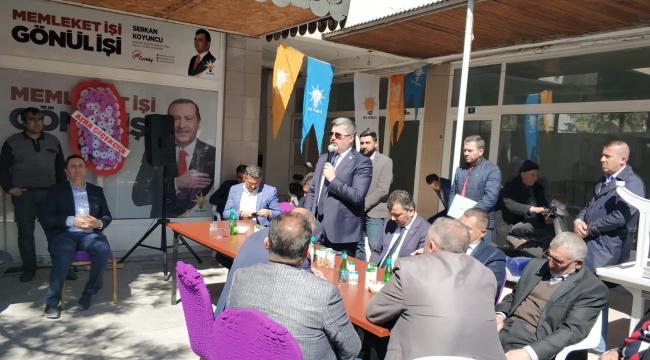 Özkaya : Askeri havaalanı sivil uçuşlara açılınca Emirdağlı gurbetçiler Afyon'a uçacak