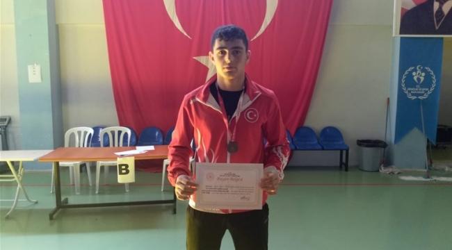 Recep, Genç Erkekler Türkiye Üçüncüsü