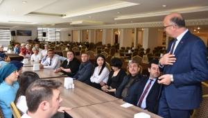 Sandıklı MHP Adayı Gürel : Personelimiz bizim takım arkadaşımız olacak.