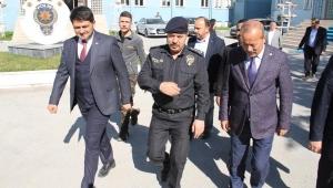 Taytak'tan Emniyet Müdürlüğüne Tebrik Ziyareti