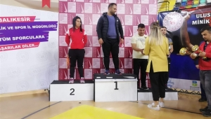 Uluslararası Güreş Turnuvasında Taşoluk Belediye Spor Kulübü biri altın 6 madalyanın sahibi oldu.
