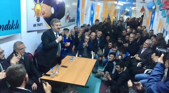 Yurdunuseven Hocalar ve Sandıklı ilçelerini ziyaret etti
