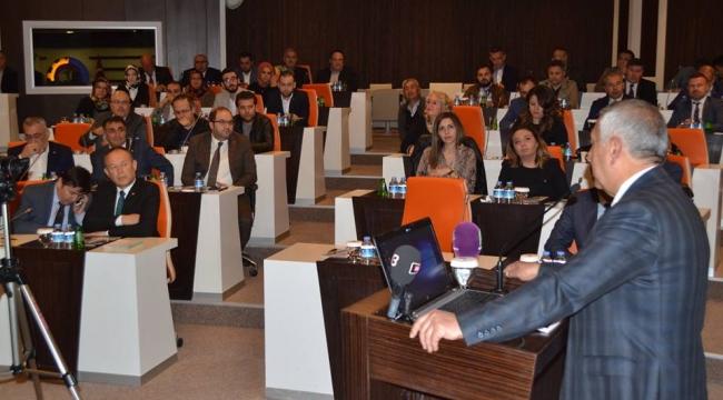 Zeybek ATSO'da Projelerini Anlattı