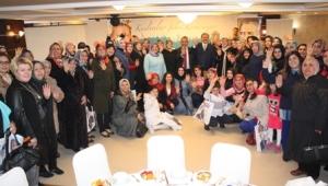 Zeybek'in Hanımeli Çarşı Projesine Kadınlardan Tam Destek