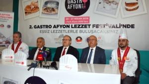 """""""2. Gastro Afyon 2019 Lezzet Festivali"""" Lansman Toplantısı Yapıldı"""