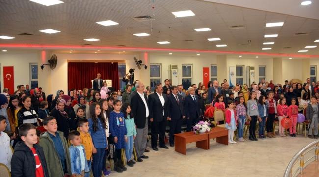 23 Nisan Çocuk Şenliğinde Çocuklar Doyasıya Eğlendiler