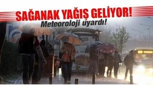 Afyonkarahisar'a sağanak yağış geliyor