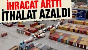Afyonkarahisar'da ihracat %13,0 arttı, ithalat %13,0 azaldı