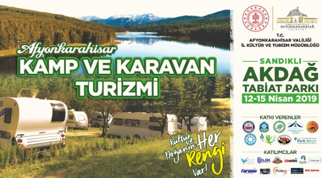 Akdağ'da kamp ve karavan turizmi başlıyor