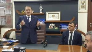 Akparti teşkilatından Emirdağ Belediyesi'ne Hayırlı Olsun Ziyareti