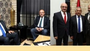 Baro ve İl Genel Meclisi Başkanlarından Ziyaret