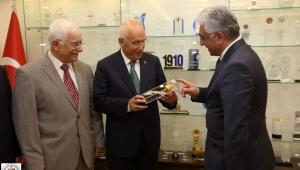 Boldav'dan başkan fethi yaşar'a tebrik ziyareti