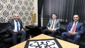 Cumhuriyet Başsavcısı Çelenk Ve 2.ACM Başkanı Köken'den Ziyaret