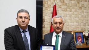 DDY Bölge Müdürü Adem Sivri'den Ziyaret