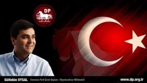 DP Lideri Uysal : AK Parti, çıkan sonucu bir an önce kabul etmeli ve sistemi zorlamamalı