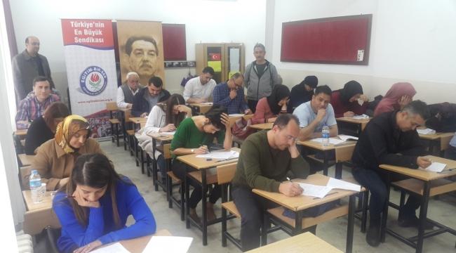 Eğitim-Bir-Sen 'in Yönetici Seçme Sınavına Hazırlık Deneme Sınavı yapıldı