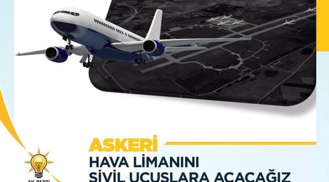 Emirdağlılara Havalimanı Müjdesi veren Eroğlu'na Uçak Bileti Fiyatları hatırlatması