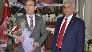 İhsaniye'nin yeni başkanı Türkmen görevine başladı