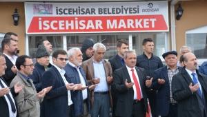 İscehisar Market Dualarla Açıldı