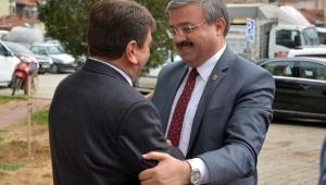Milletvekili Yurdunuseven'den Başkan Sarı'ya Hayırlı Olsun Ziyareti