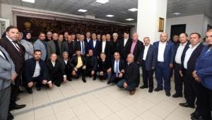 Muhtarlardan Başkan Zeybek'e Ziyaret