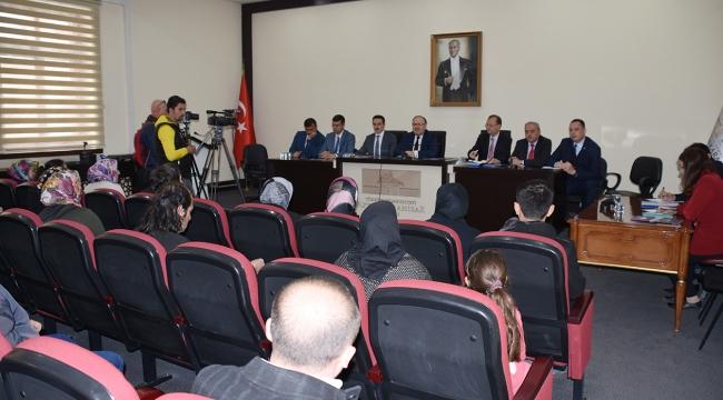 Nisan Ayı Halk Günü Toplantısı Yapıldı